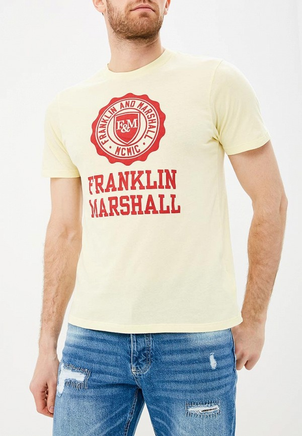 Футболка Franklin & Marshall Franklin & Marshall FR949EMACKB9 рубашка franklin
