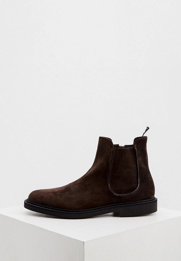 мужские ботинки fratelli rossetti one, коричневые
