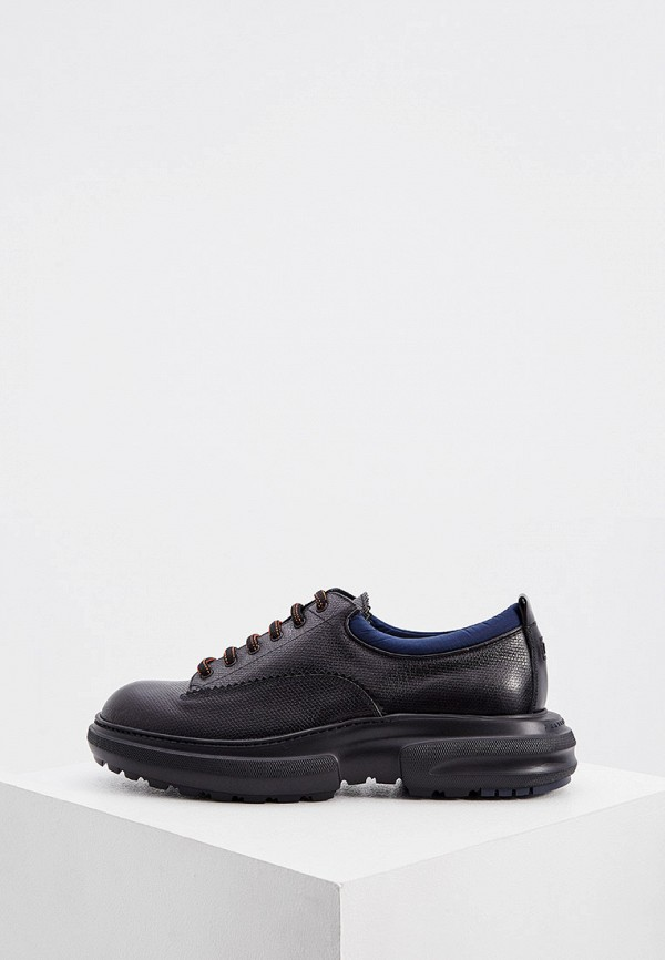 мужские ботинки fratelli rossetti one, черные