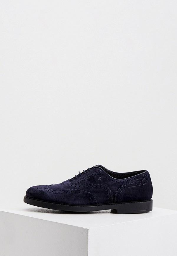 мужские туфли fratelli rossetti one, синие