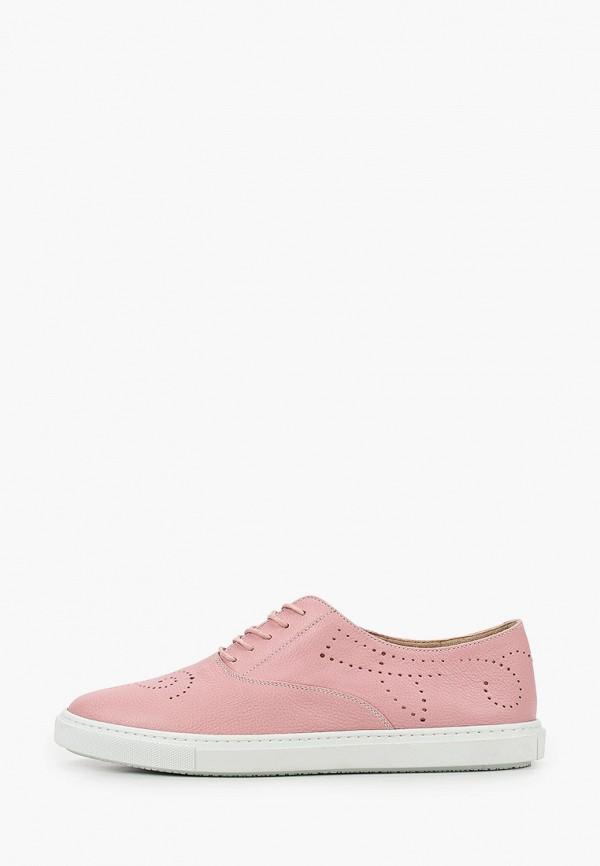женские ботинки fratelli rossetti one, розовые
