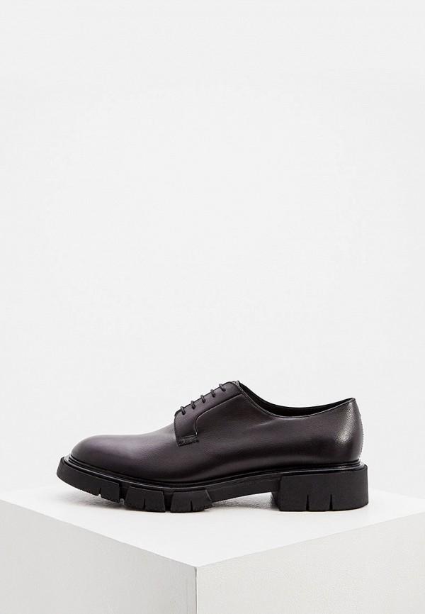мужские туфли fratelli rossetti, черные