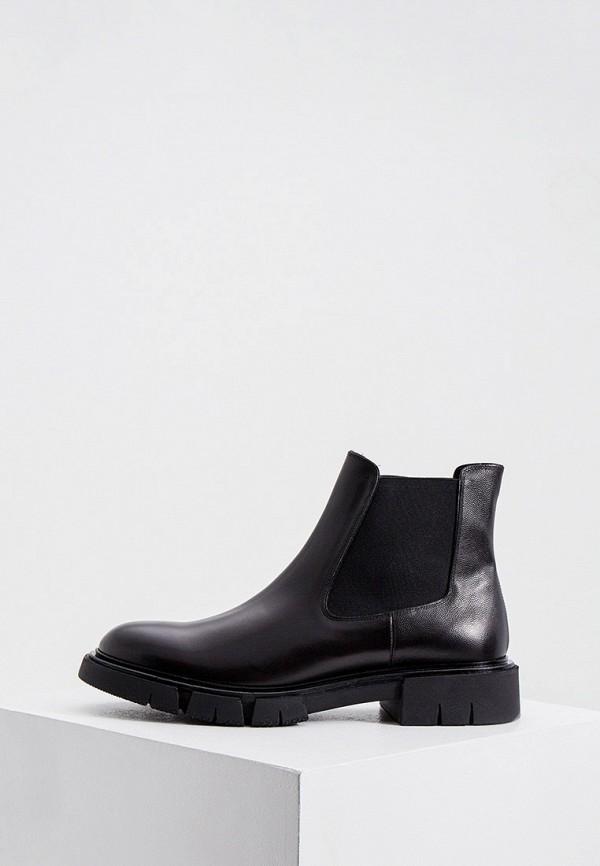 мужские ботинки fratelli rossetti, черные