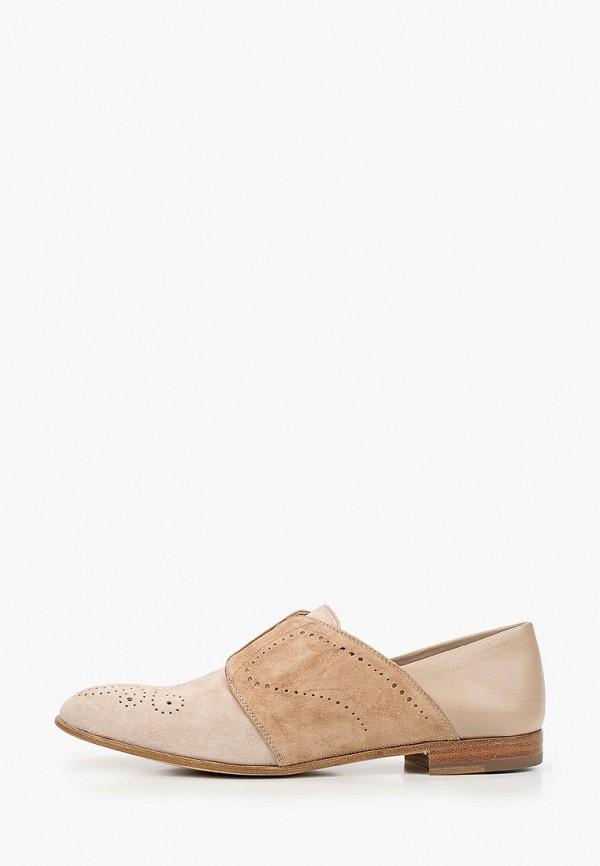 женские туфли fratelli rossetti, бежевые