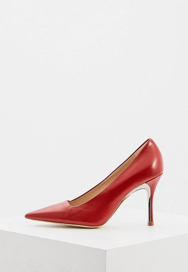 женские туфли-лодочки furla, красные