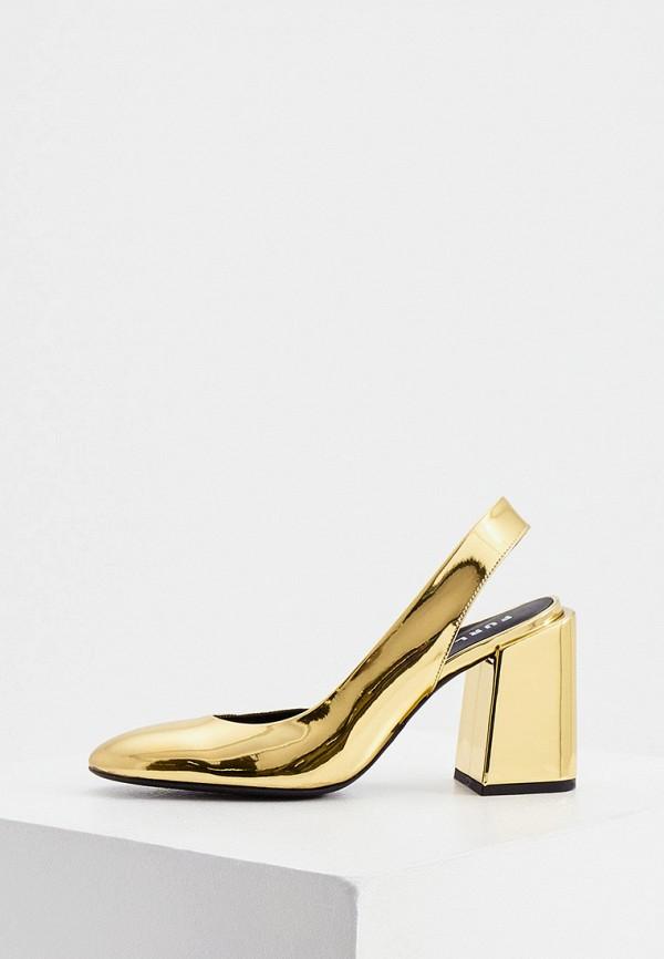 женские туфли furla, золотые