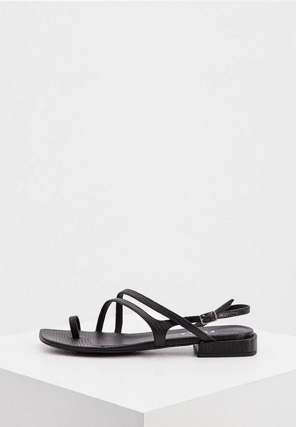 женские сандалии furla, черные
