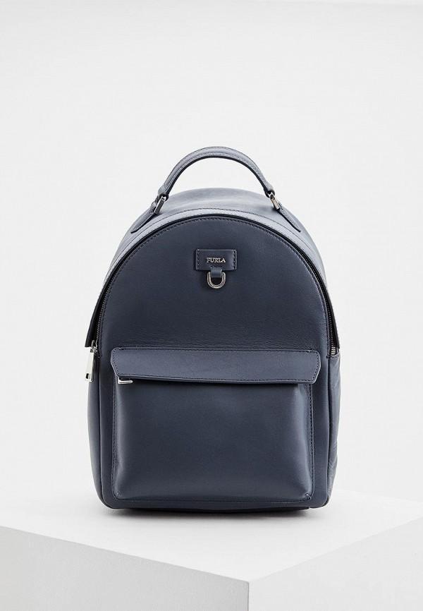 женский рюкзак furla, серый