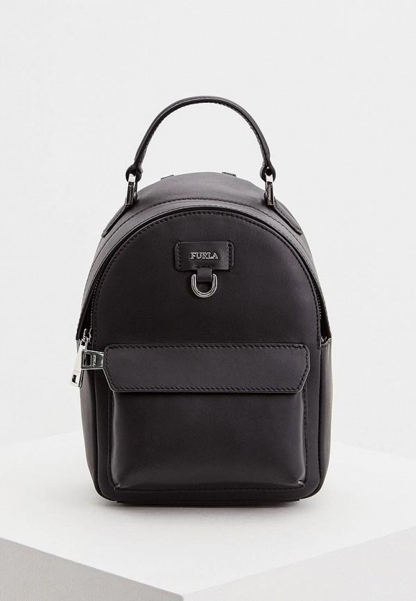 женский рюкзак furla, черный
