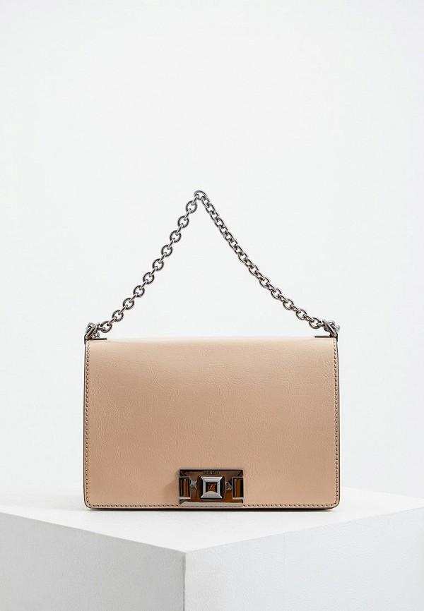 женская сумка furla, бежевая
