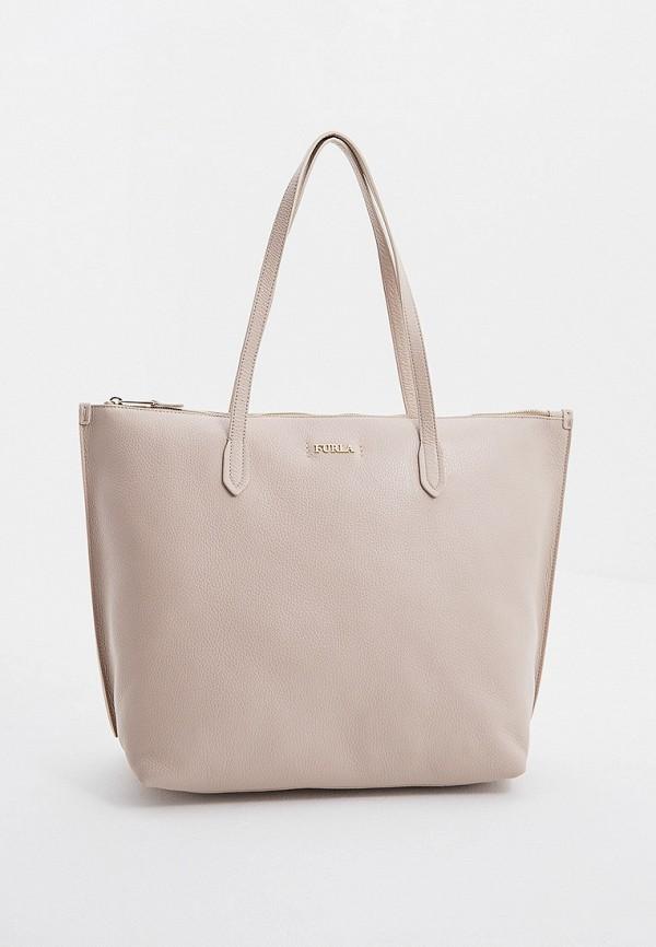 женская сумка furla, розовая