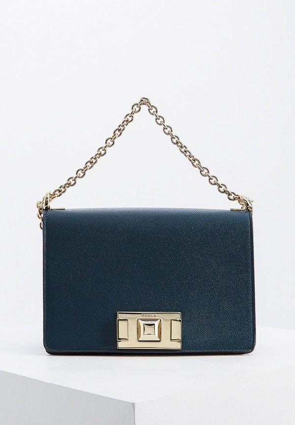 женская сумка furla, зеленая