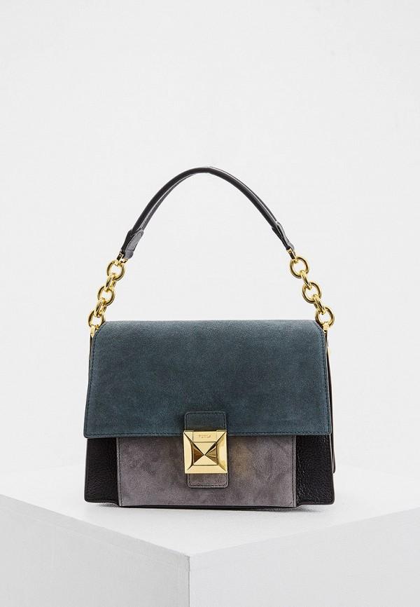 женская сумка furla, разноцветная