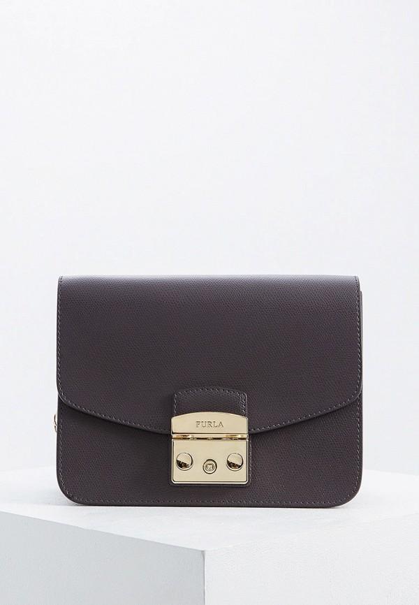 женская сумка furla, серая