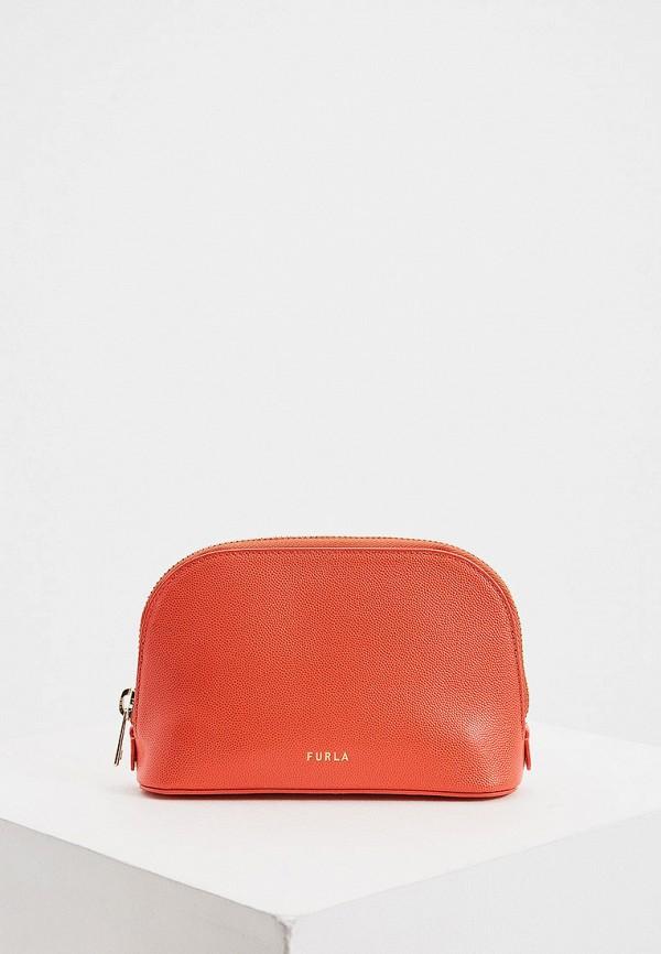 женская поясные сумка furla, красная