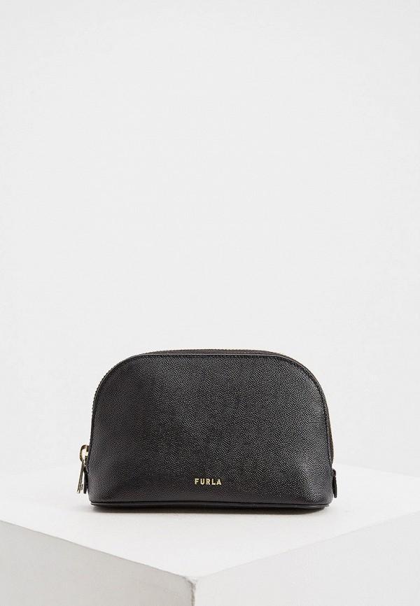 женская поясные сумка furla, черная