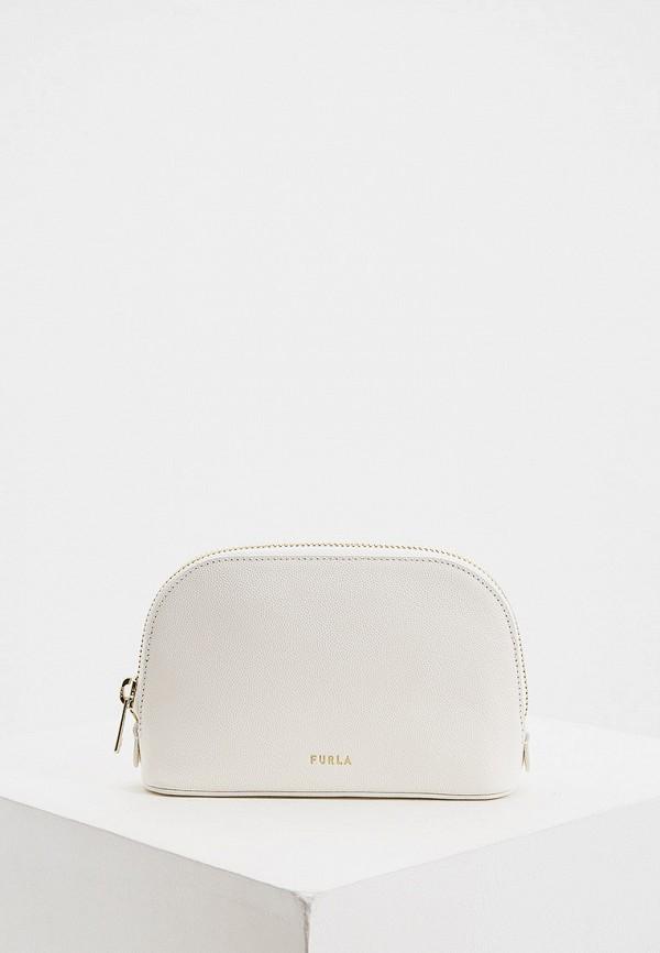 женская поясные сумка furla, белая