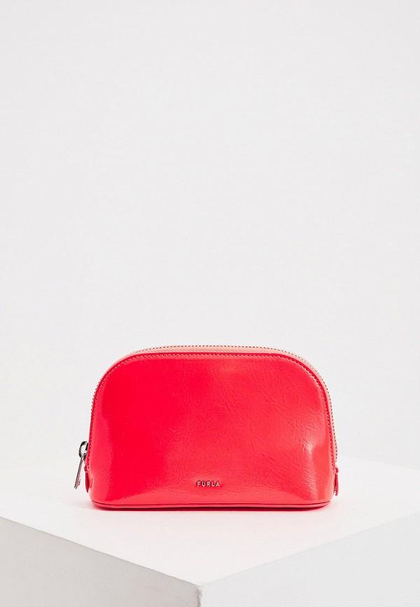 женская поясные сумка furla, розовая