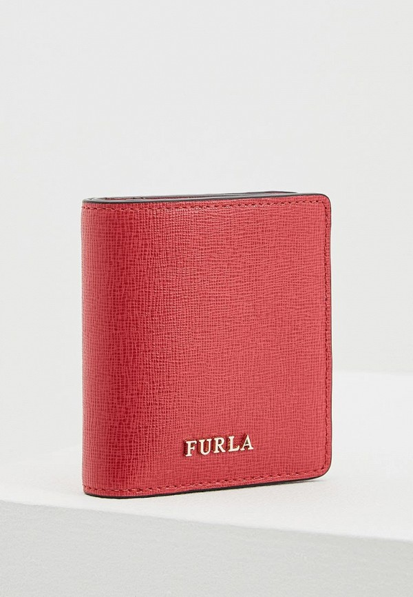 женский кошелёк furla, красный