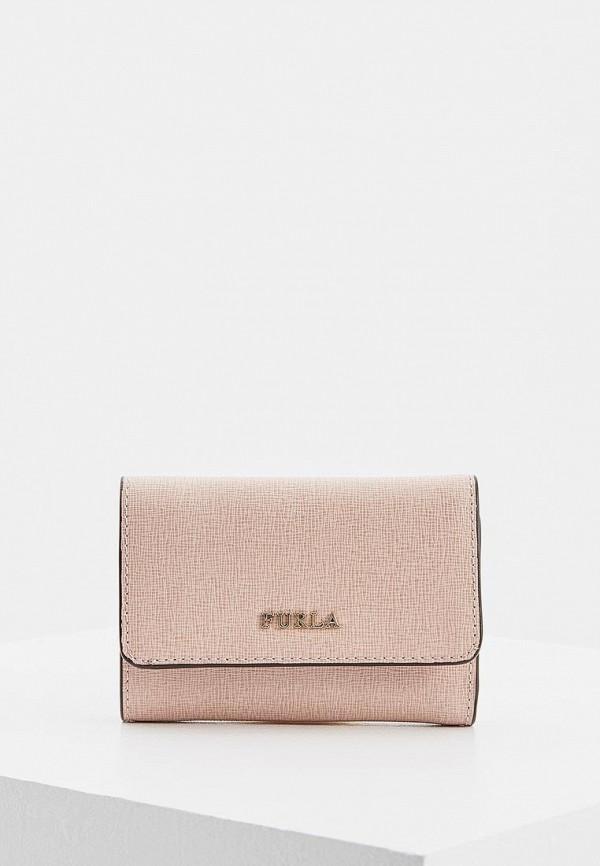 мужской кошелёк furla, розовый