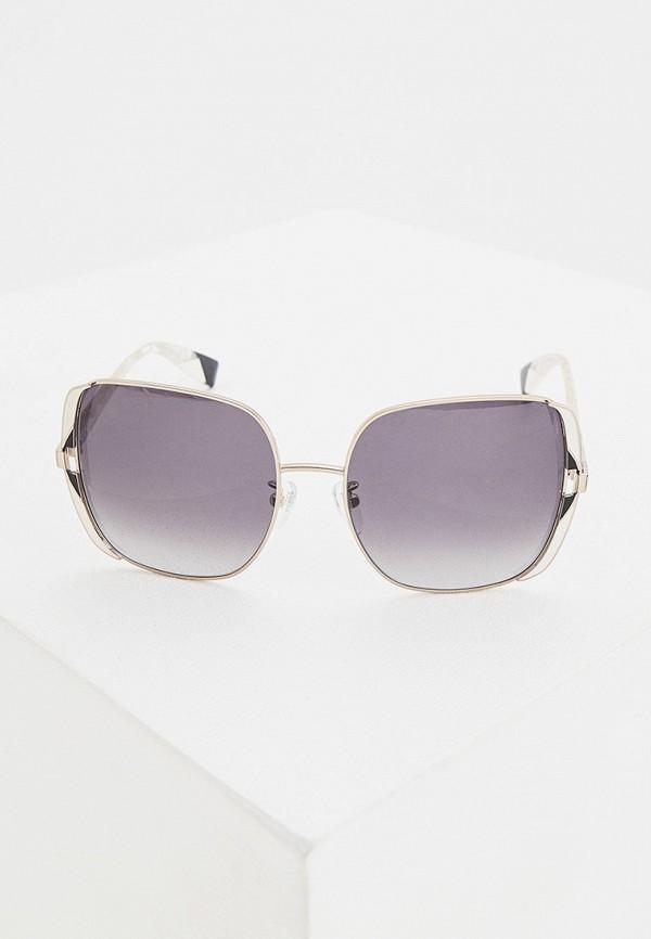 женские солнцезащитные очки furla, золотые