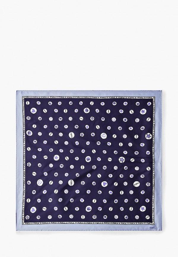 женский платок furla, синий