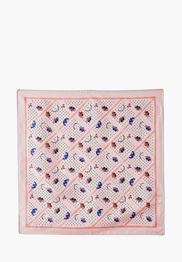 женский платок furla, розовый