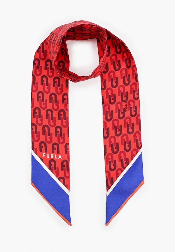 женский платок furla, разноцветный