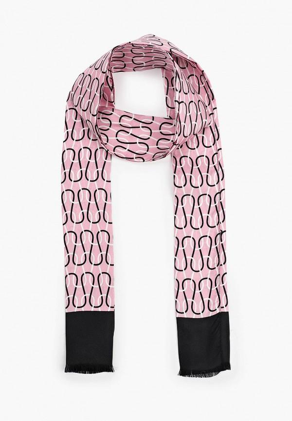 женский шарф furla, розовый