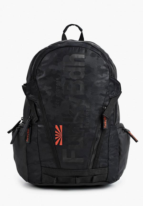 мужской рюкзак funky buddha, черный