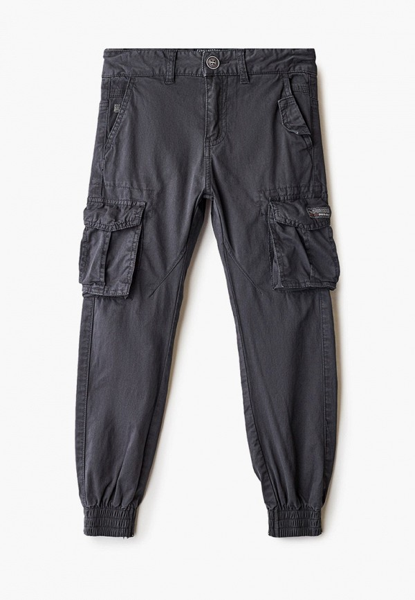 брюки funky buddha для мальчика, серые