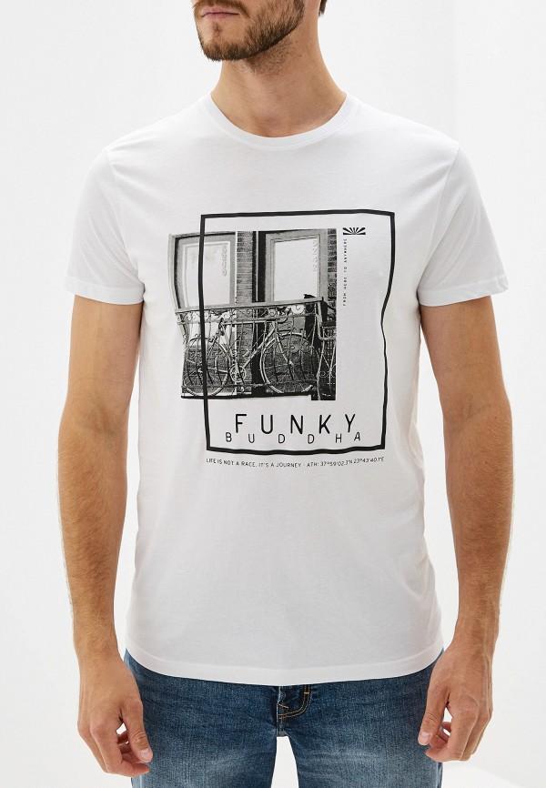 Футболка Funky Buddha Funky Buddha FU006EMEYRM4 футболка funky buddha funky buddha fu006emeyrl2