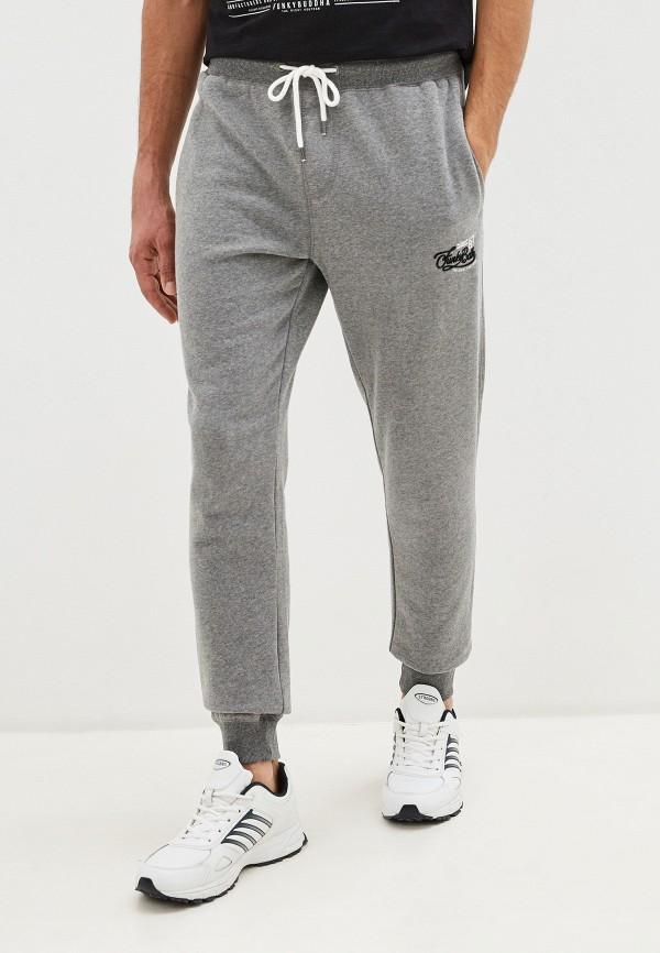 мужские спортивные брюки funky buddha, серые