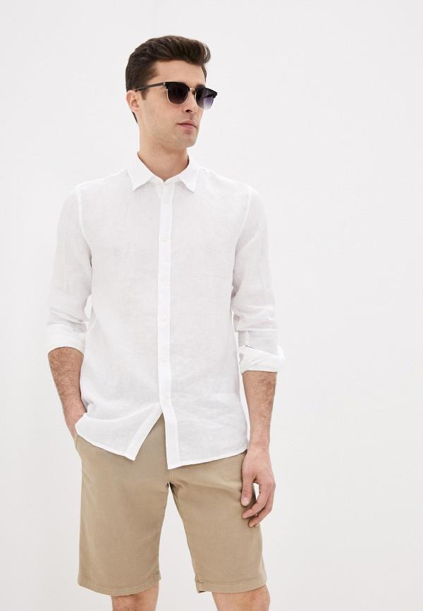 мужская рубашка funky buddha, белая