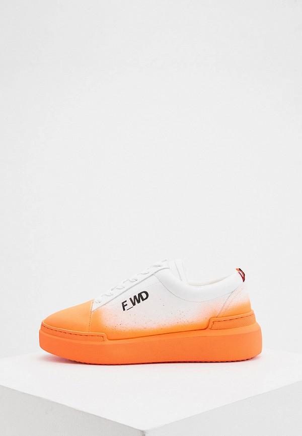 женские кеды f_wd, оранжевые