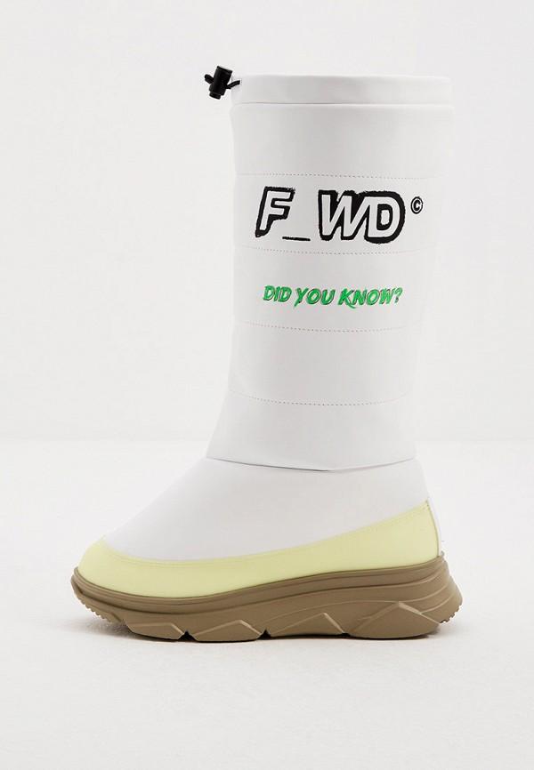 женские дутики f_wd, белые