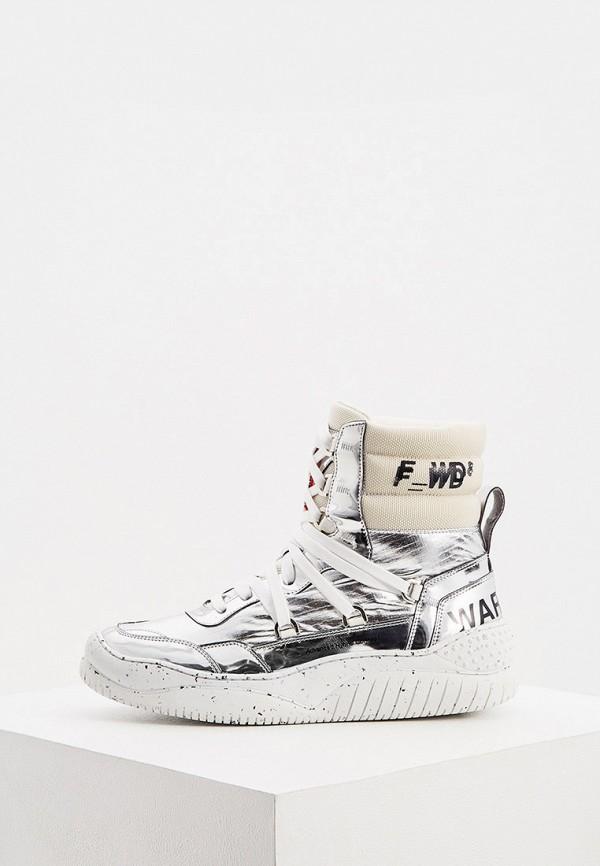 женские кроссовки f_wd, серебряные