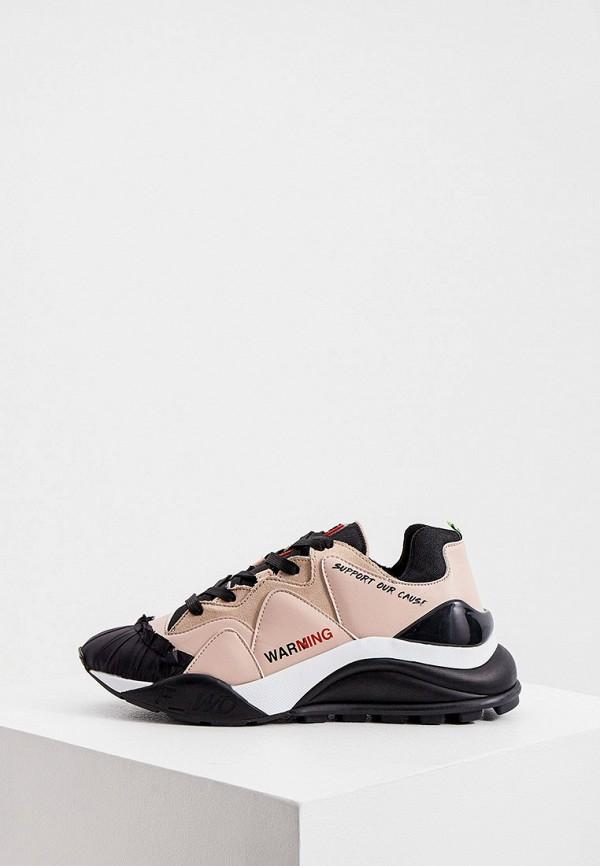 женские кроссовки f_wd, розовые