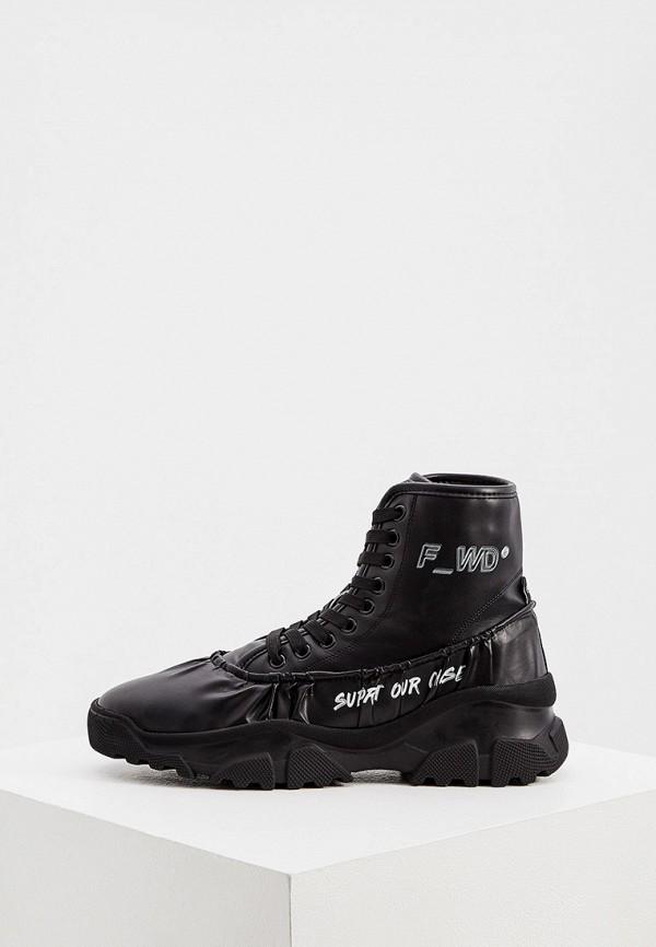 женские ботинки f_wd, черные