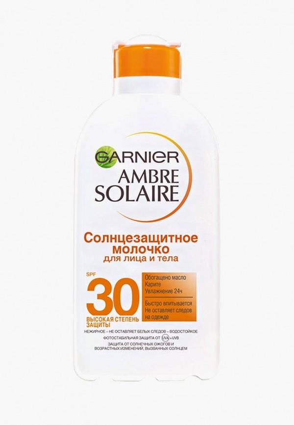 Купить Молочко солнцезащитное Garnier, Ambre Solaire SPF 30, 200 мл, GA002LUBEBO5, белый, Осень-зима 2018/2019