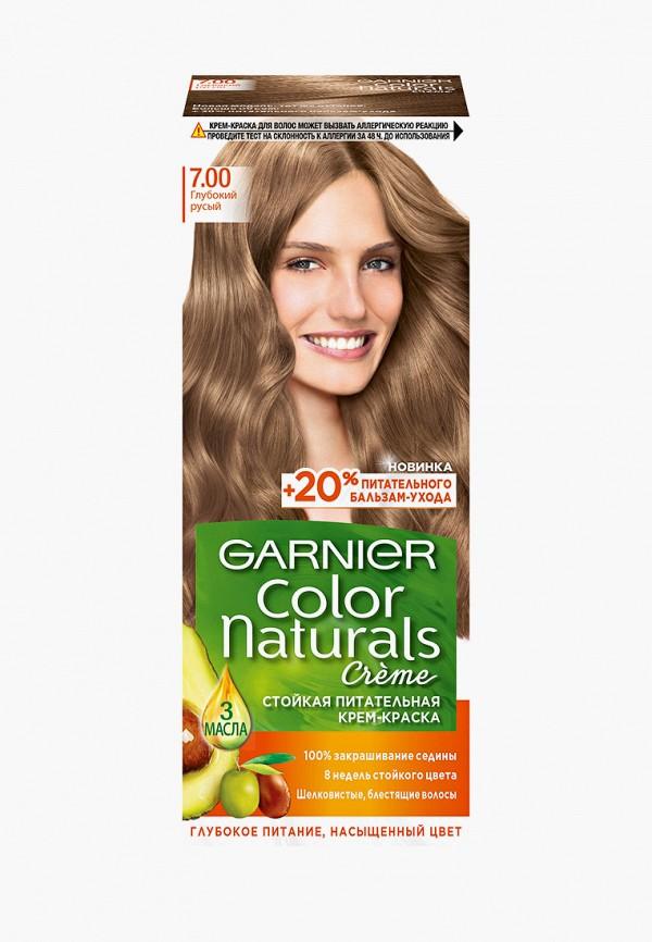 краска для волос garnier, коричневый