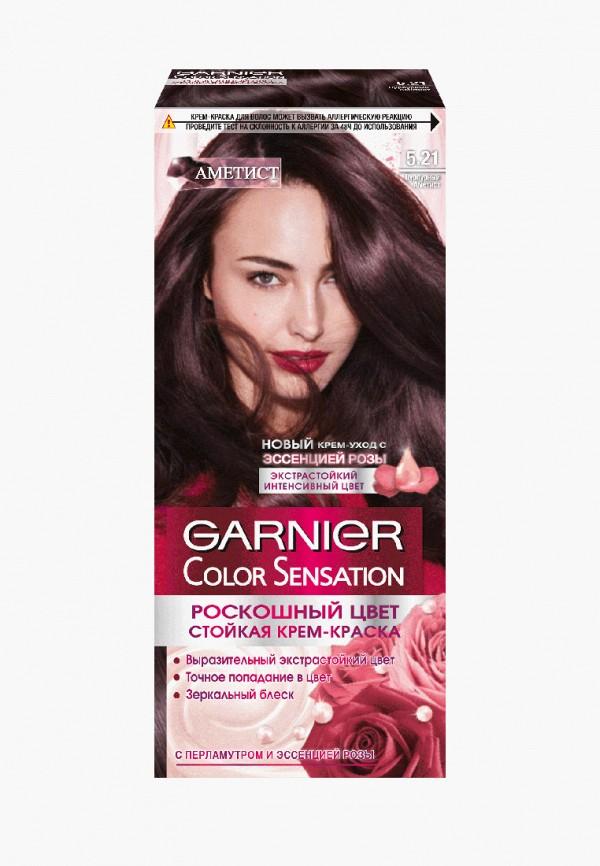 женский краска для волос garnier, бордовый