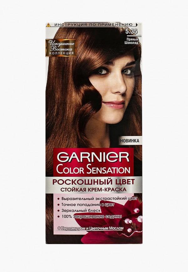 Купить Краска для волос Garnier, Color Sensation, Роскошь цвета, оттенок 5.35, Пряный шоколад, ga002lwivs08, коричневый, Осень-зима 2018/2019