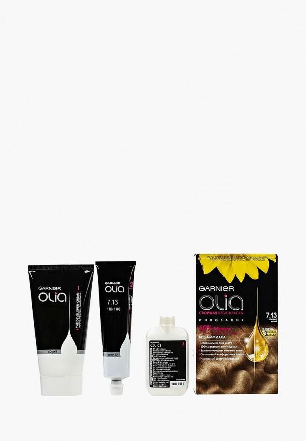 Купить Краска для волос Garnier, Олия 7.13 Бежевый Русый, GA002LWJCL94, Весна-лето 2018