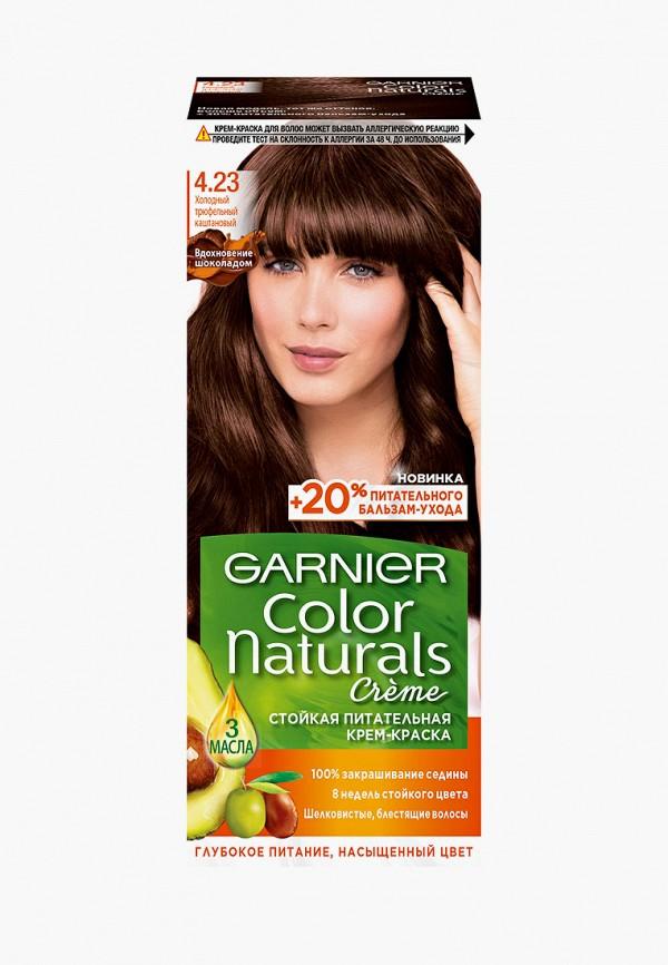 женский краска для волос garnier, коричневый