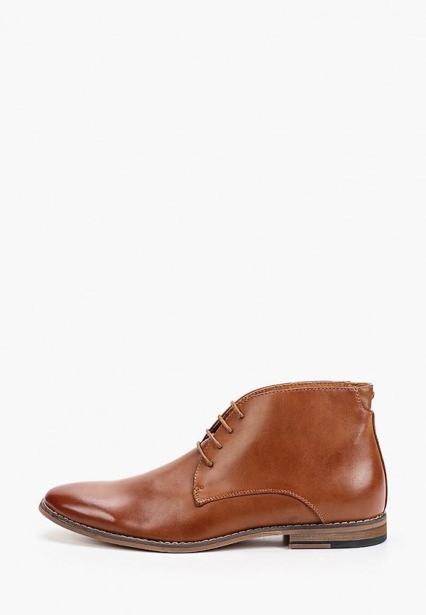 мужские ботинки galax, коричневые