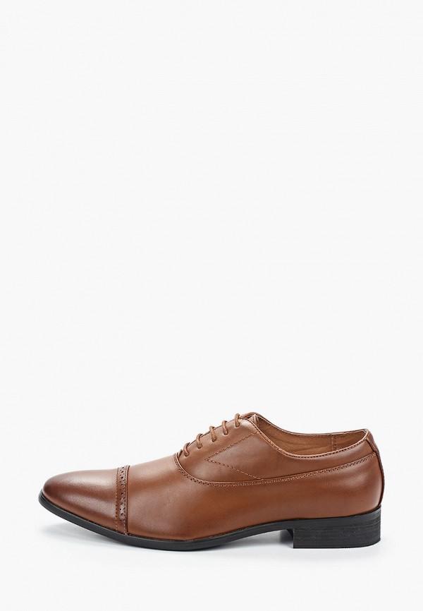 мужские туфли galax, коричневые
