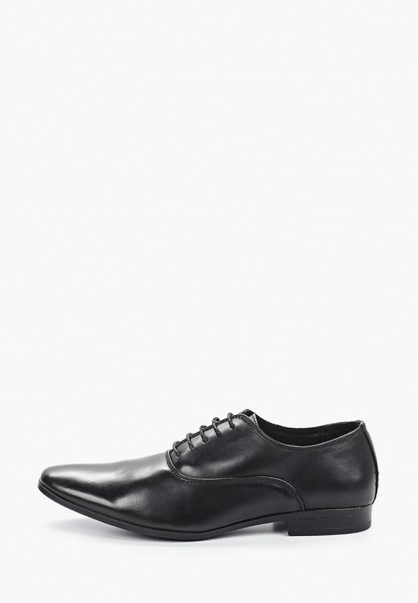 мужские туфли galax, черные