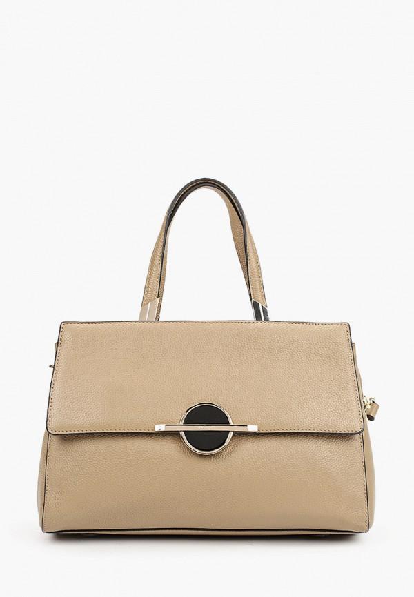 женская сумка galaday, коричневая