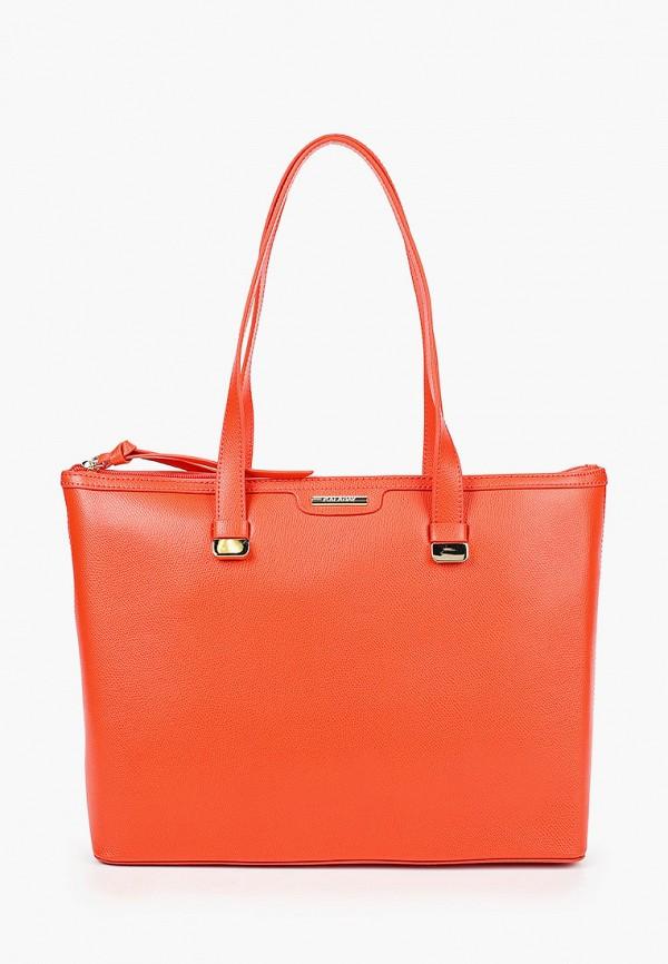 женская сумка galaday, оранжевая